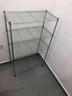 4-tier Stainless Steel Racks