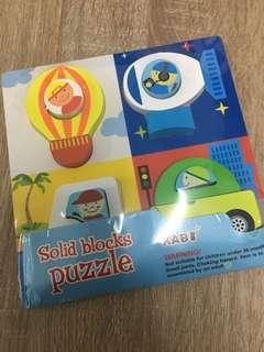 Puzzle Mainan Anak Edukasi Transportasi