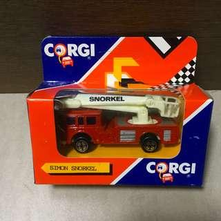 Corgi Juniors Simon Snorkel Fire Engine