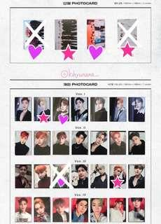 Monsta X Are You There Album Photocards