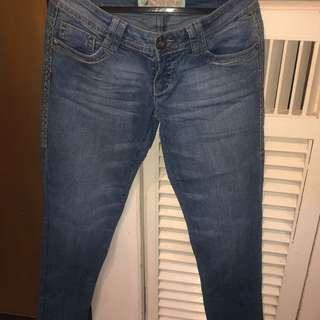 NEW FADED PANTS SIZE 25-27