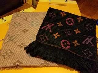 LV 粗冷頸巾 2 色