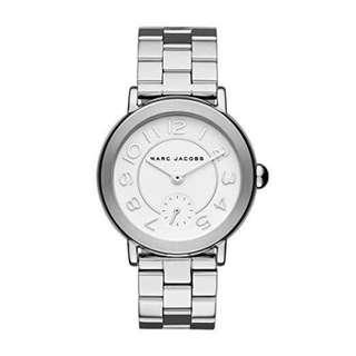 Marc Jacobs Women's Riley Stainless-Steel Watch-SILVER