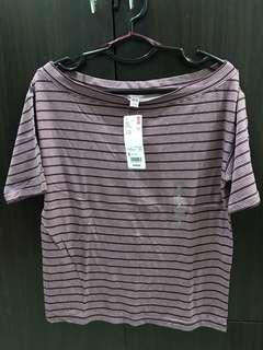 BNEW Boat Neck Top Small