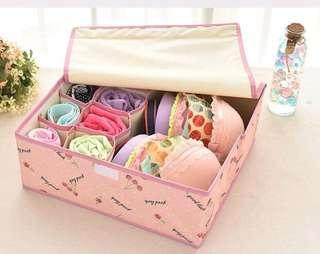 2 in 1 Underwear Storage Box