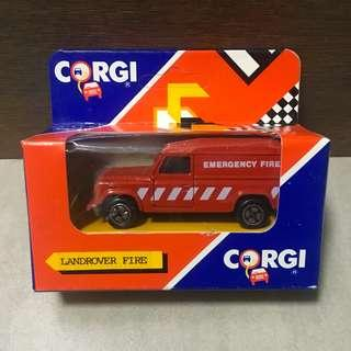Corgi Juniors Land Rover Defender 110 Emergency Fire