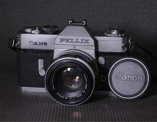 Canon Pelix P SLR film camera