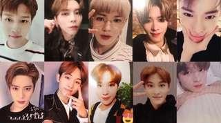 NCT127 REGULATE OFFICIAL PHOTOCARDS