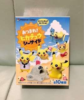 Pokemon Center限定 - Pikachu比卡超沙灘盒蛋食玩 No.3 (可交換)