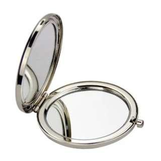 【件件8蚊】2倍放大鏡高清鏡面化妝鏡摺疊鏡