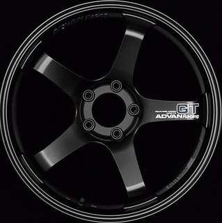 Advan GT Rims Semi Gloss Black by Yokohama