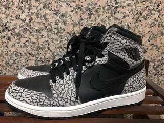 🚚 Nike air Jordan 1 / 1代 爆裂 黑 灰 白 限定