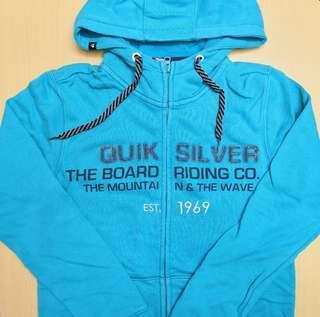 澳洲著名品牌 Quiksilver 全新 BNWT 正版 男裝 外套 Jacket -Size S- 細碼*未剪價錢牌*