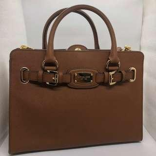 MICHAEL KORS EASTWEST HAMILTON SATCHEL