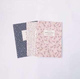 Artbox Vintage Floral Notebooks (PER PIECE)