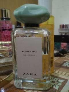 Zara perfume accord no 2 oriental