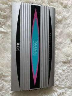 Altec Lansing ALA320 Car Amp 4x Channel 80w (made in Korea)