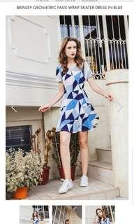 BN TSW ABSTRACT DRESS