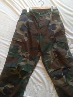 Camo Pants from Zumiez - Small