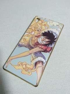 One Piece Luffy Sony Xperia Z5 Premium Silicone Phone Case