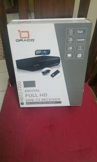 Draco Digital Full HD DVB-T2 Receiver