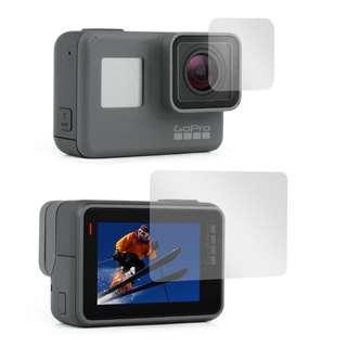 GOPRO Hero 5 / 6 / 7 / Silver / Black / HERO 2018 Tempered Glass Screen Protector Sport Camera