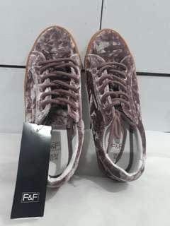 Mink Velvet Creeper Casual Shoes