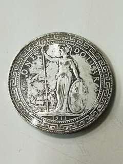 🚚 1911年版站洋銀元