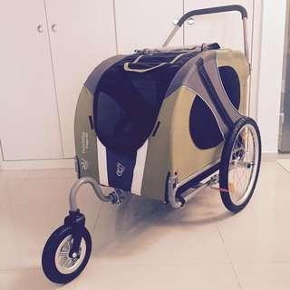 DoggyRide Stroller Pet Bicycle Trailer by Dutch Dog Design Usual price $1400