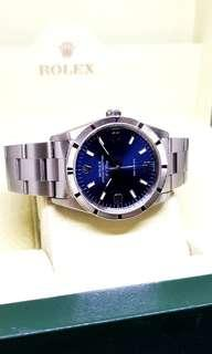 Rolex Oyster Perpetual Air King Blue Dial