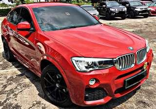 BMW X4 28i XDRIVE 2.0 AUTO  NEW FACELIFT