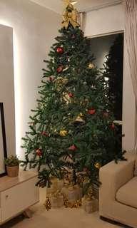 Huge Christmas Tree 2.4m/8ft