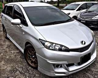TOYOTA WISH VALVE MATIC 2.0 AUTO NEW FACELIFT SAMBUNG BAYAR