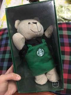 Limited Edition 2016 Starbucks Bear
