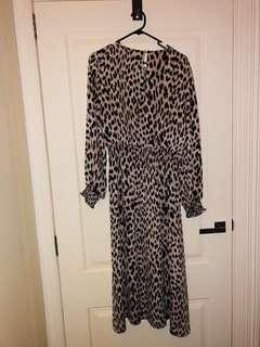 Witchery Leopard Dress Size 10