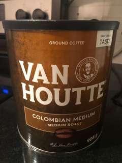 Unopened 908g Van houtte medium roast ground coffee