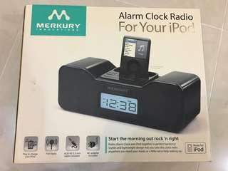 鬧鐘收音機Alarm clock radio for your IPod