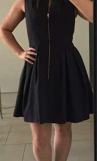 Cue charcoal dress