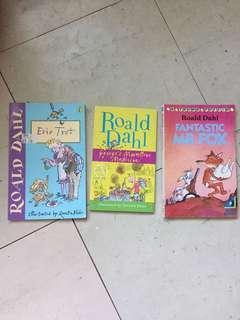 Roald Dahl books 75 each