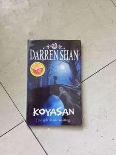 Koyasan by Darren Shan