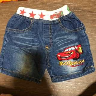 Shorts preloved for 1.5 to 2.5 yr old children toddler boys jeans material shorts
