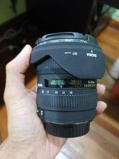 [Price Reduced] Sigma 10-20mm F4-F5.6 (Canon mount)
