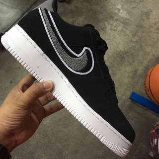 "67c5442436f poshup Nike Air Force 1  07 Lv8 "" Chenille Swoosh """
