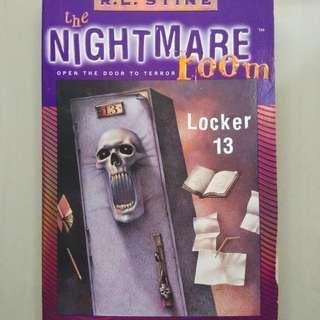 The Nightmare Room - RL Stine - Locker 13 MD