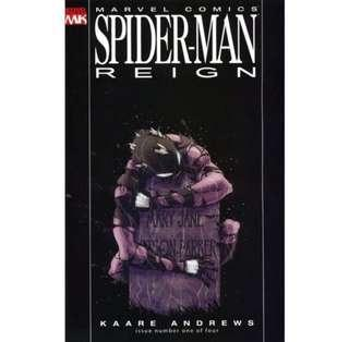 SPIDER-MAN - REIGN (2004) First issue! Black Costume Variant. Recalled for Nude Panel