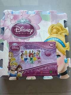 Disney princess 6 pc puzzle mat