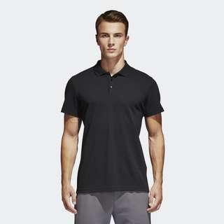 Adidas golf shirt black