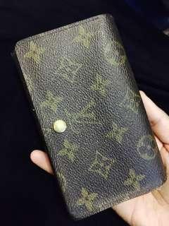 Authentic LV  Louise Vuitton Wallet woman purse trifold