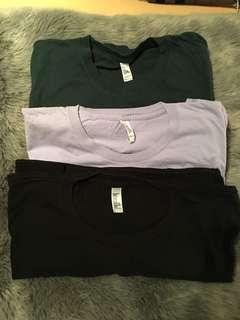 American Apparel t shirts