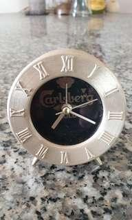 Calsberg gold beer alarm clock old